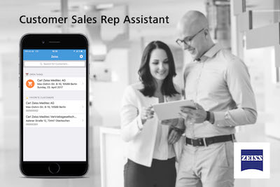 Zeiss Meditec Customer Sales Representative Assistant App rolled out in Germany and Mexico