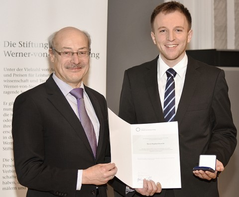 Werner-von-Siemens-Ring foundation awards young scientist