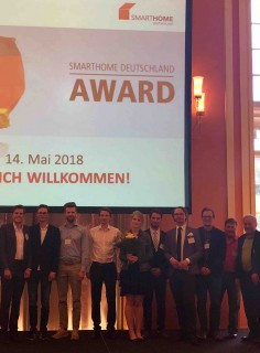iPraktikum Team Receives SmartHome Deutschland Award 2018