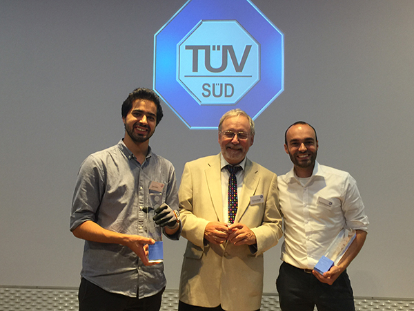 TÜV SÜD Innovation Award 2017: First Place