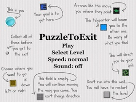 Puzzle To Exit