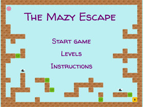 The Mazy Escape