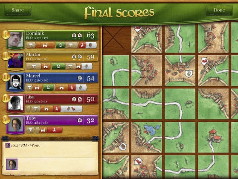 Example Application: Carcassonne