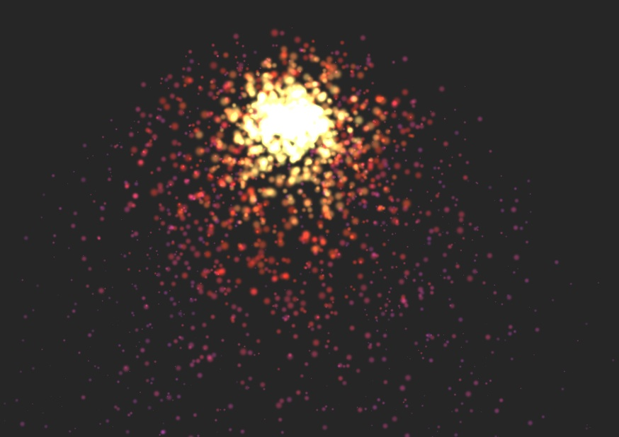 how to create particle system from sprites unity